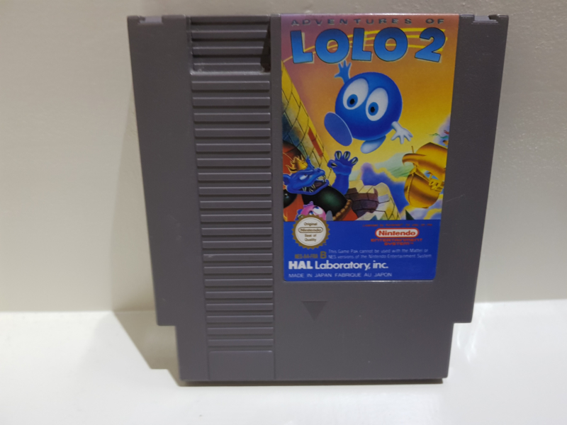 Adventures of Lolo 2 - Nintendo NES 8bit - Pal B (C.2.5)