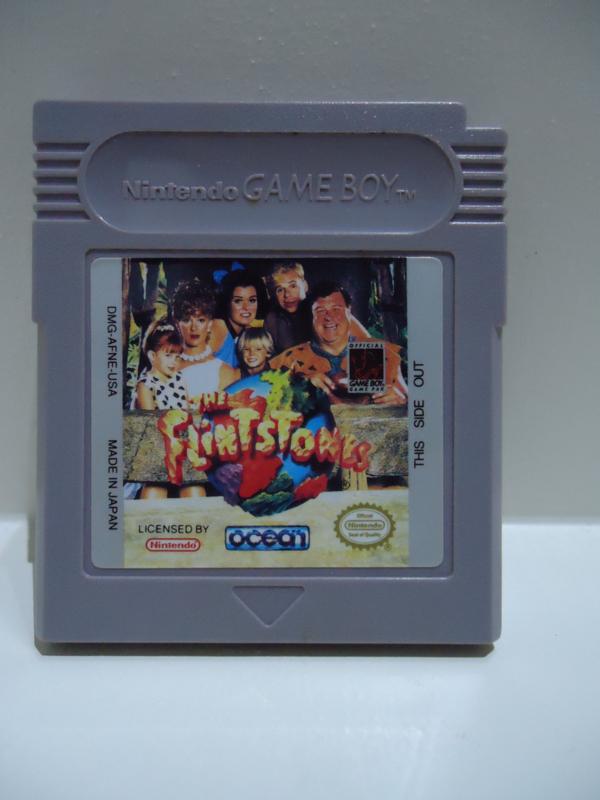 The Flintstones - Movie Edition Nintendo Gameboy GB / Color / GBC / Advance / GBA (B.5.2)
