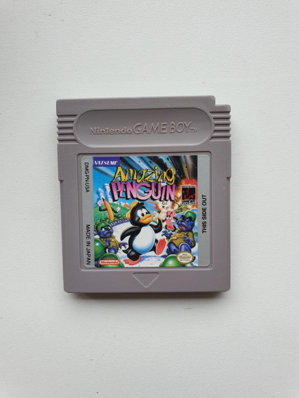 Amazing Penguin Nintendo Gameboy GB / Color / GBC / Advance / GBA (B.5.2)