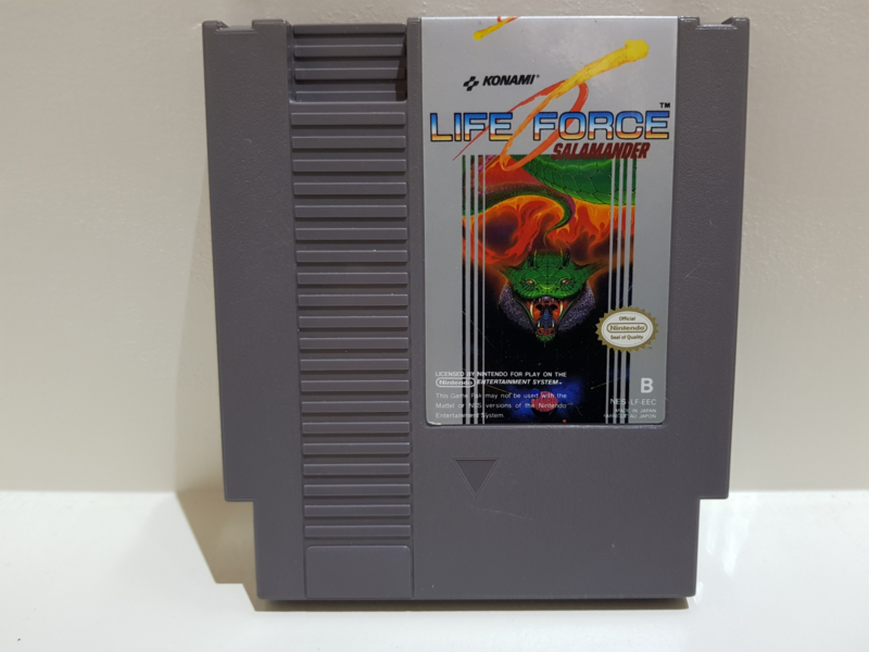 Life Force Salamander - Nintendo NES 8bit - Pal B (C.2.8)
