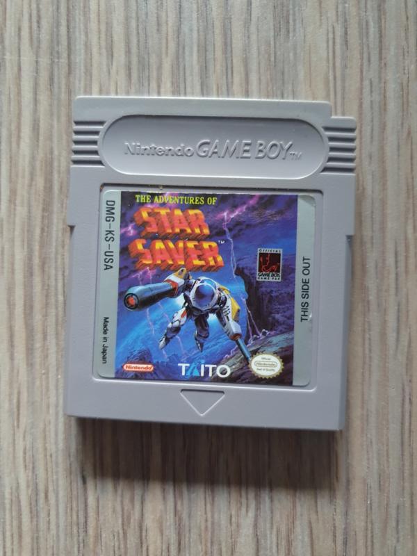The Adventures of Star Saver  Nintendo Gameboy GB / Color / GBC / Advance / GBA (B.5.1)