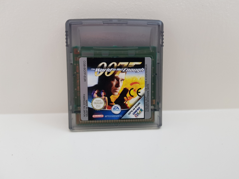 007 The World is not Enough - Nintendo Gameboy Color - gbc (B.6.1)