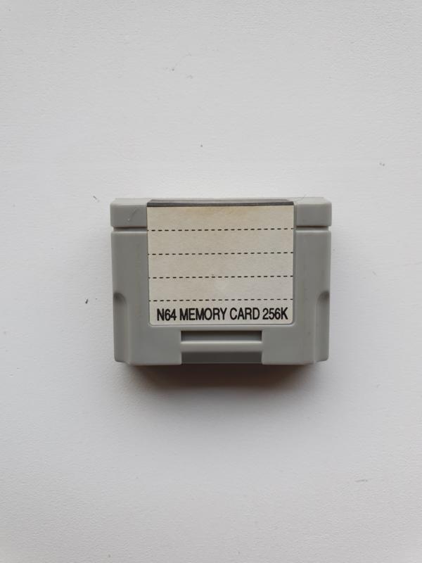 Nintendo 64 N64 - N64 Memory Card 256K model JT 390 (E.3.1)