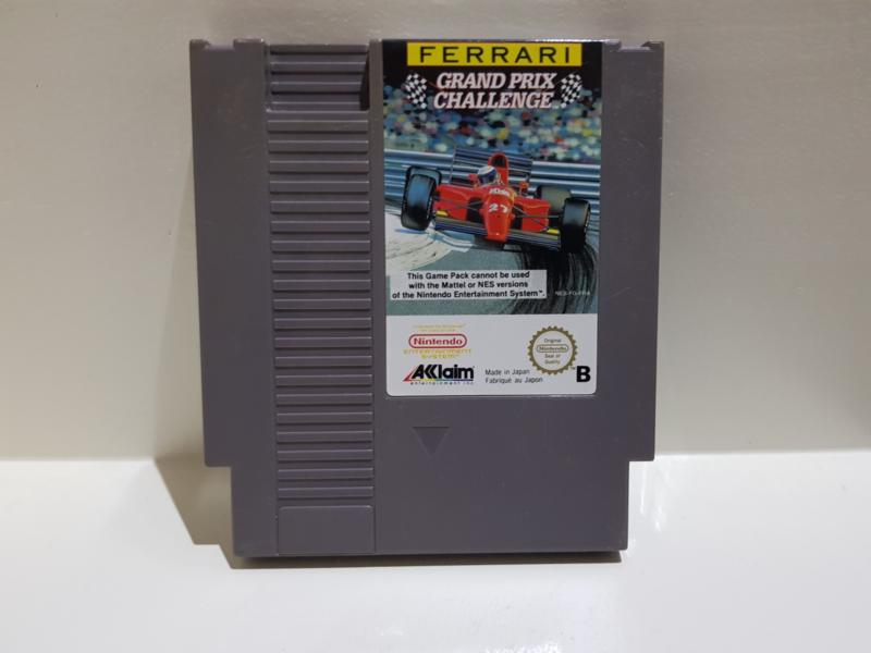 Ferrari Grand Prix Challenge - Nintendo NES 8bit - Pal B (C.2.3)