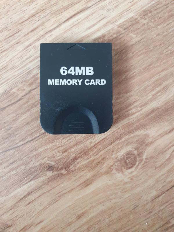 64Mb Memory Card Nintendo Gamecube GC NGC (H3.1)