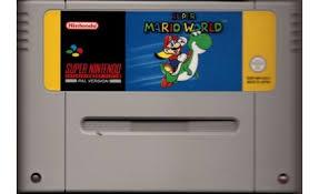 Super Nintendo / snes / Super Nes spelcomputer 16 Bit met super mario world