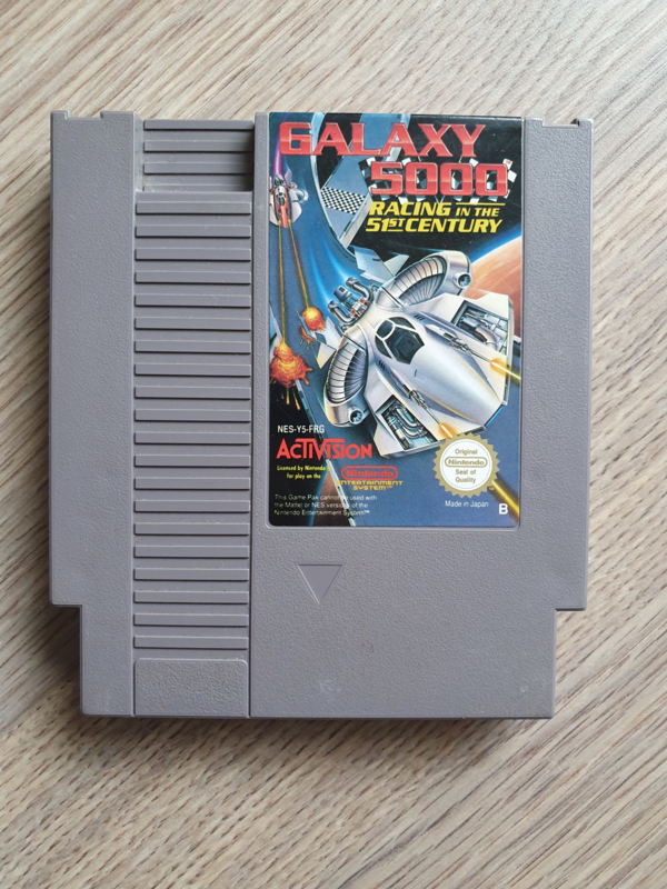 Galaxy 5000 Racing in the 51st Century - Nintendo NES 8bit - Pal B (C.2.6)