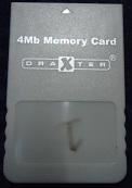 4Mb Memory Card Draxter Nintendo Gamecube GC NGC (H3.1)