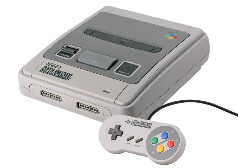 Super Nintendo Console 16 Bit SNES Startset voor Retro - Budget versie