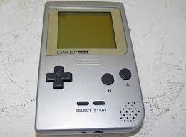 Nintendo Gameboy Pocket zilver GB - Nieuwstaat incl orginele doorzichtige box (B.1.2)