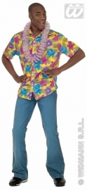 Hawaii blouse bloemen