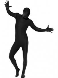 Morph suit / kostuum zwart