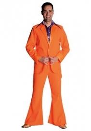 Disco / 70`s kostuum oranje