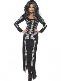 Skeleton jurk Fancy