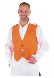 Oranje Gilet W.K.