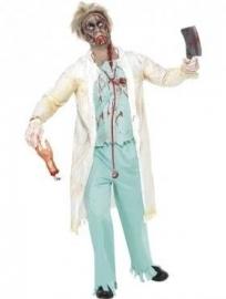 Horror doctor kostuum
