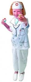 Verkleedset zuster-dokter