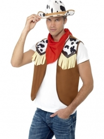 Cowboy kledingset