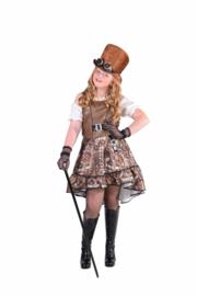 Steampunk jurk meisjes
