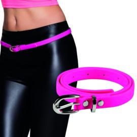 Neon pink riem