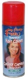 Neon rood haarspray