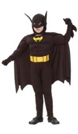 Batman klein gespierd