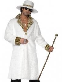 Pimp kostuum wit