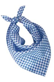 Oktoberfest halsdoek blauw wit