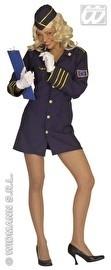 Blue lady stewardess jurkje