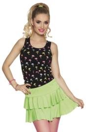 Mini rok neon groen