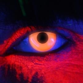 Party contactlenzen UV oranje