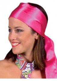 Roze Sjaal / Hoofdband