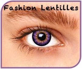 Kleurlenzen Violet reality