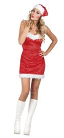 Kerstjurkje Santa lady