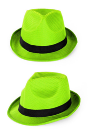 Neon groen hoedje tribly