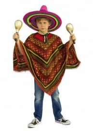Mexicaanse Poncho kids