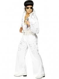 Elvis Presley wit kostuum