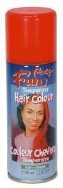 Neon oranje haarspray