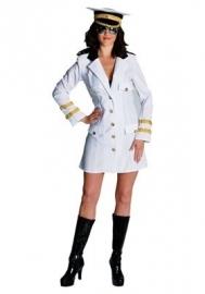 Officiersdame jurk wit