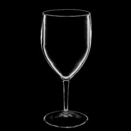 Kunststof wijnglazen  27cl  Transparant  6 stuks