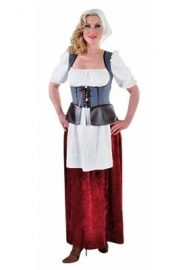 Boerse jurk lang