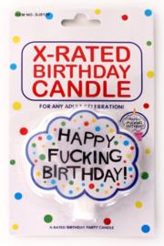 Kaarsje Happy f*cking Birthday