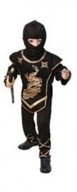 Black Ninja met goud