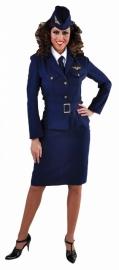 Vrouwlijke pilote deluxe