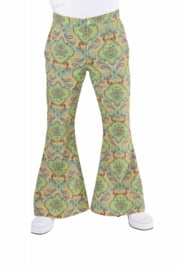 Disco broek summer of love heren