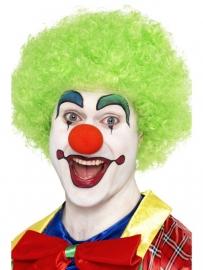 Groene Clownspruik