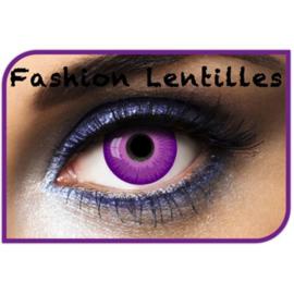 Party lens purple out