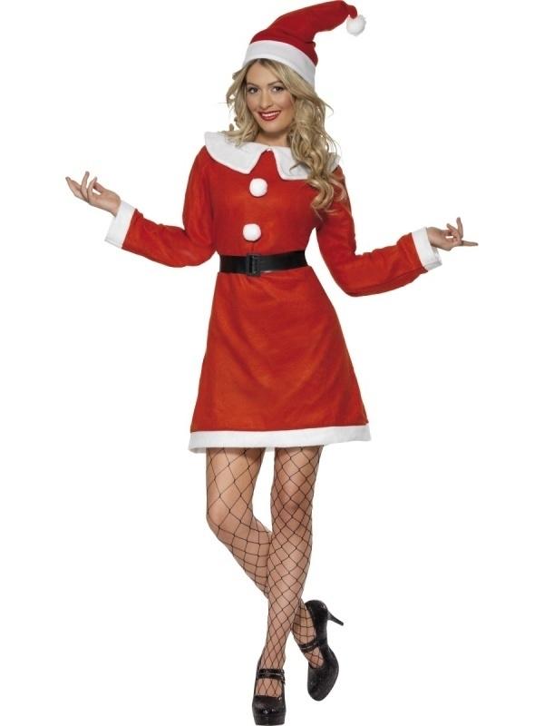 Rood Jurkje Goedkoop.Kerst Jurkje Rood Wit Kostuums Vrouwen Partykleding