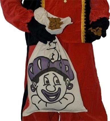 Strooizak katoen Piet