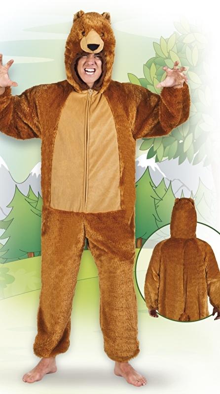Beren kostuum deluxe